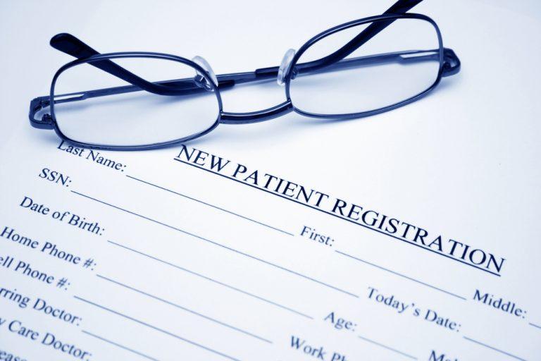 Olney Patient Registration Forms