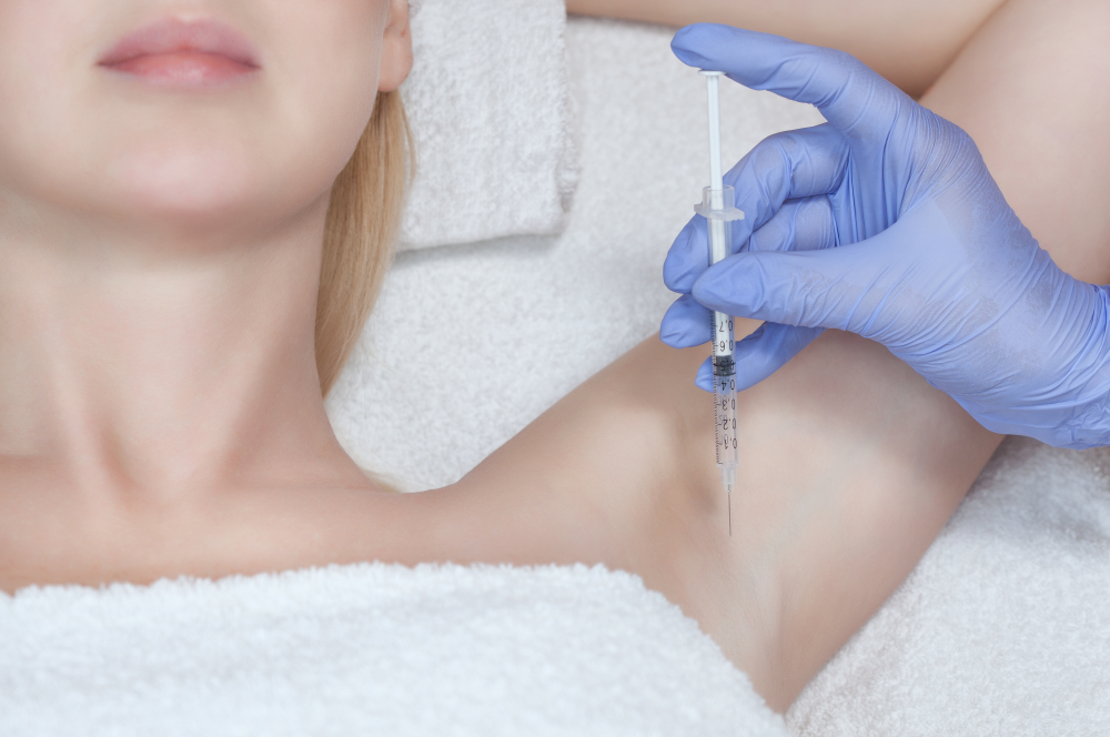 What It's Like to Get Botox for Sweating